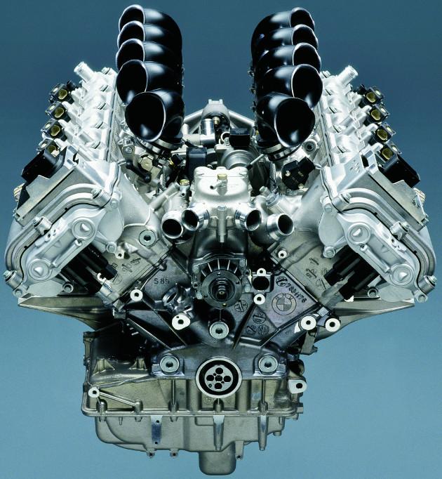 BMW V10 (M5) gasoline engine block