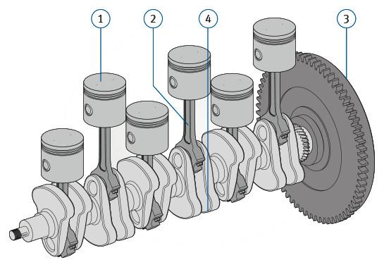 Engine Crank Mechanism