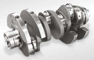 ICE Crankshaft with Bolted-on Counterweights