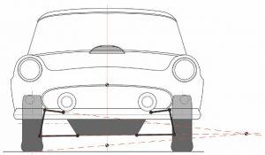 Vehicle suspension model