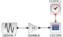 Xcos simple model