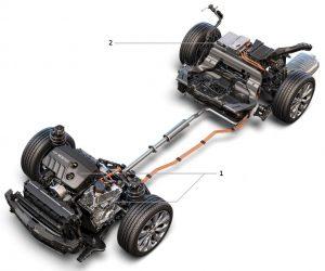 Chevrolet Malibu Hybrid powertrain (HEV)