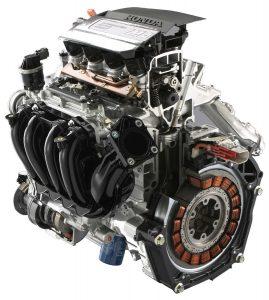 Honda IMA powertrain (MHEV)