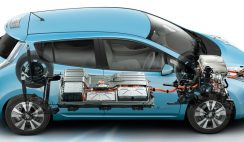Nissan Leaf anatomy