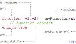 Scilab custom function structure