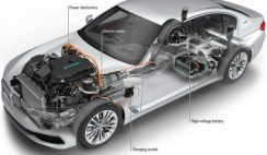 BMW 530e iPerformance plug-in hybrid electric vehicle (PHEV)