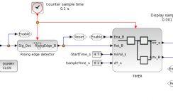 Timer activation - Xcos block diagram