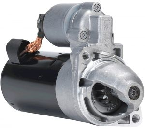 Conventional engine starter