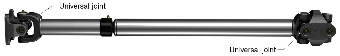 Propeller shaft components (universal joints)