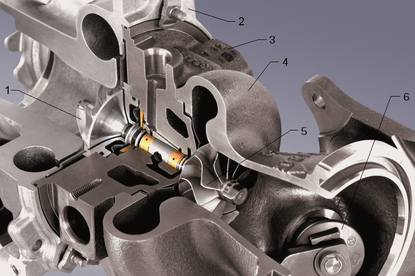 Continental turbocharger (RAAX) components