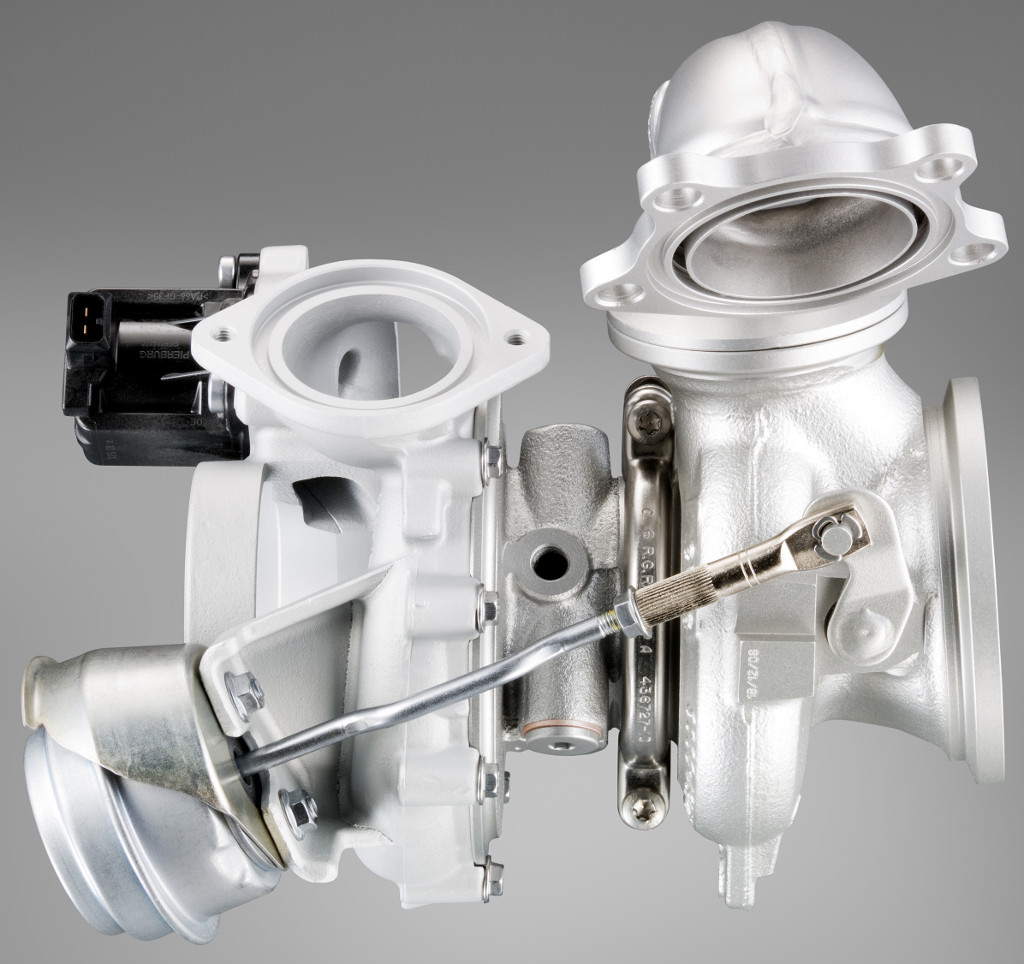 BMW turbocharger (12 cylinder gasoline engine with TwinPower Turbo)