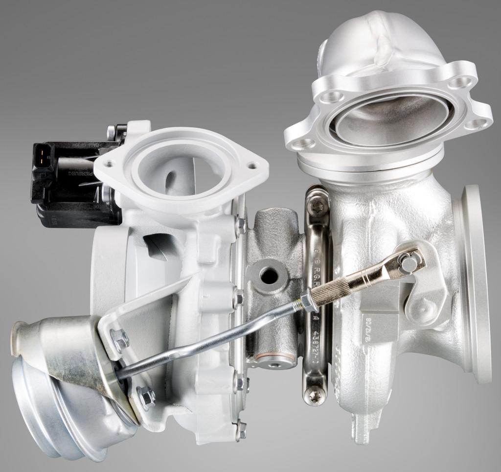 BMW turbocharger (12 cylinder gasoline engine with TwinPower Turbo)