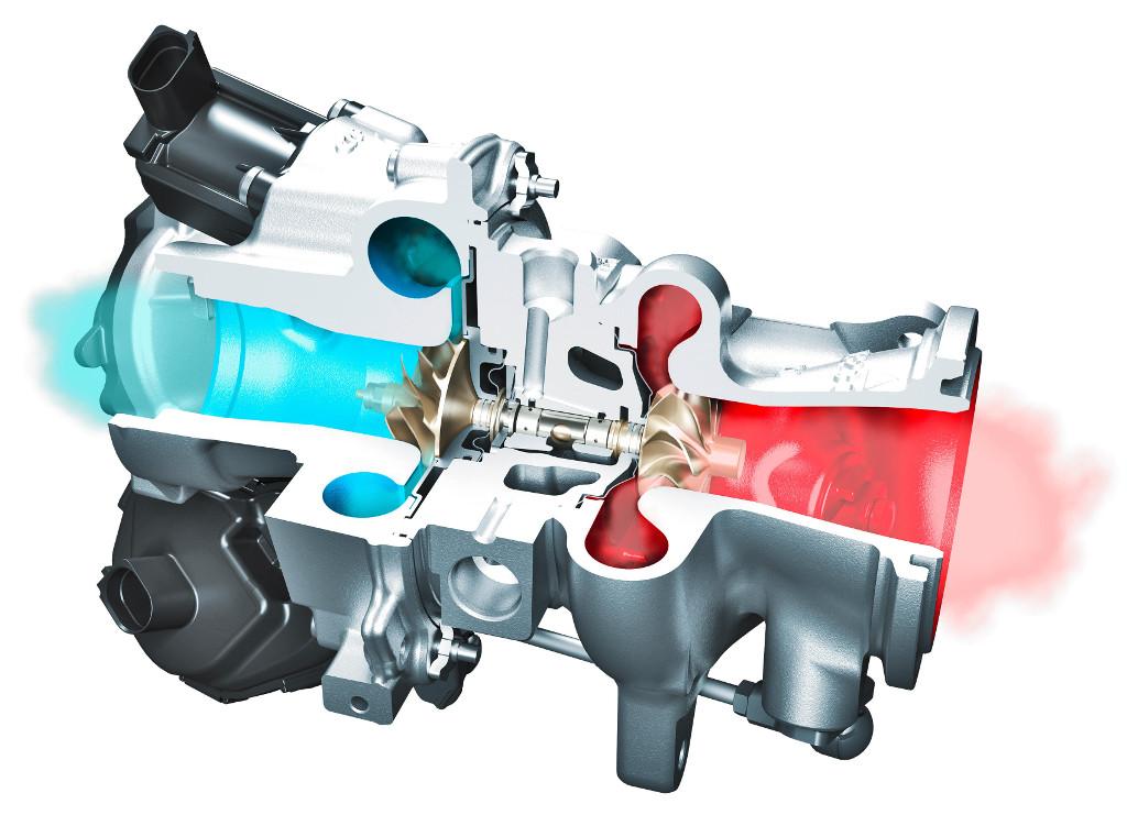 Continental radial-axial (RAAX) turbocharger