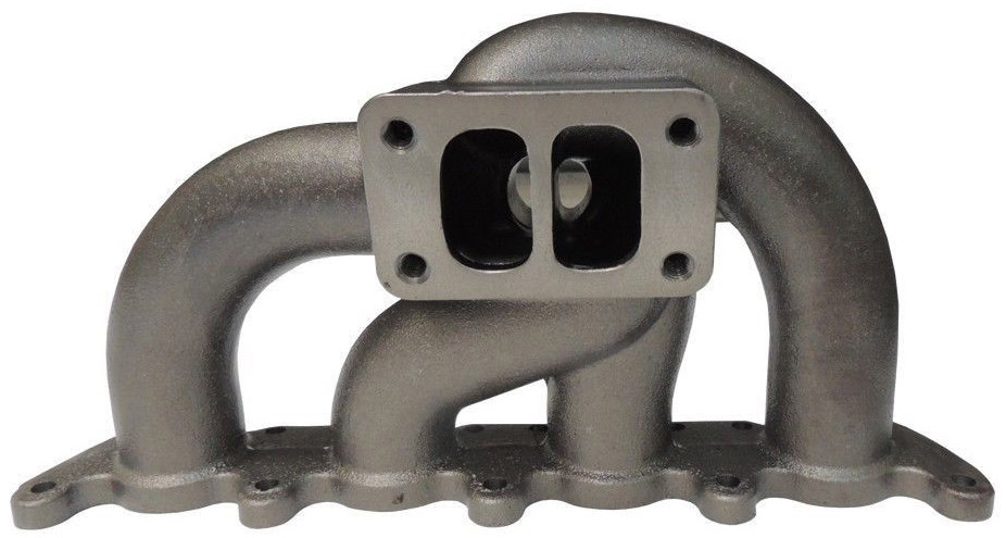VW MK IV exhaust manifold (twin-scroll turbocharger)