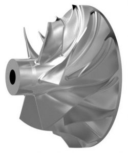 Turbocharger compressor wheel (BMTS)