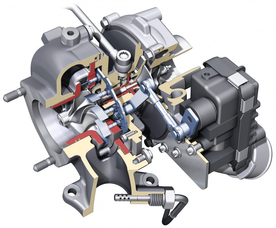 Variable geometry turbocharger (VGT) - electric actuation