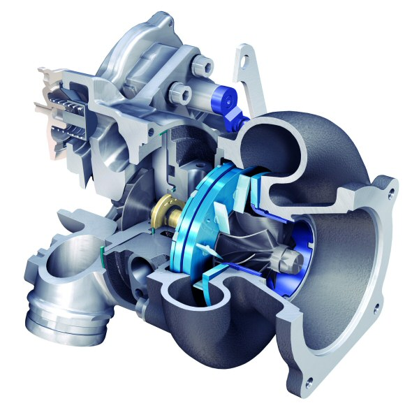 BV50 - variable geometry turbocharger (VGT) for gasoline engines