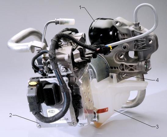 Automated manual transmission - hydraulic actuators (add-on)