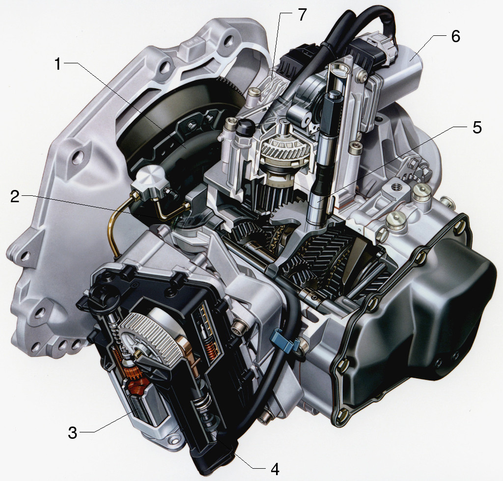 Easytronic (AMT) - components