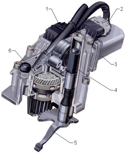 Easytronic - gear actuator