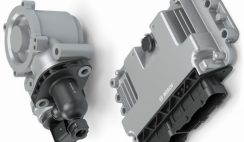 Electronic clutch actuator and control module