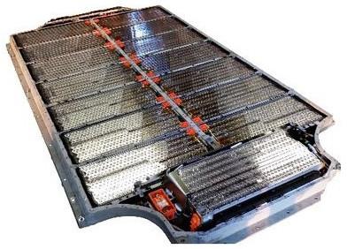 Tesla Model S battery pack