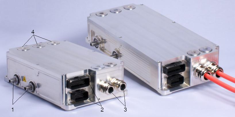 Inverter control module (RmS)