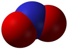 Nitrogen dioxide molecule