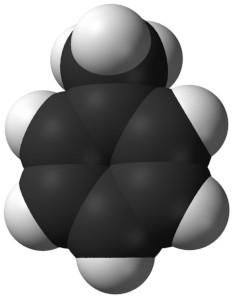 Toluene molecule