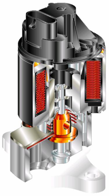 Linear Exhaust Gas Recirculation (EGR) valve