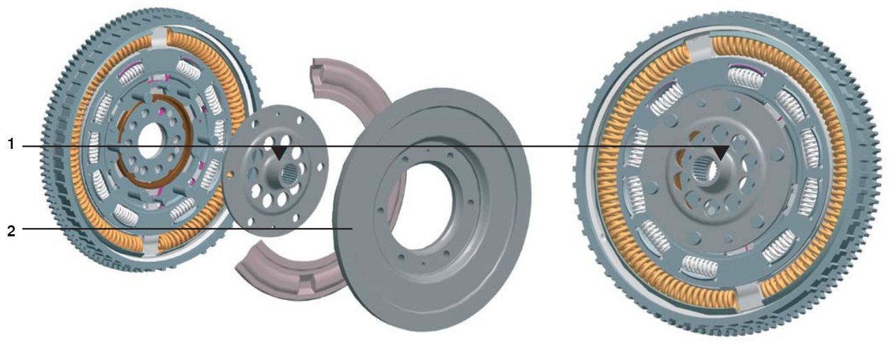 DMF for Continously Variable Transmission (CVT)