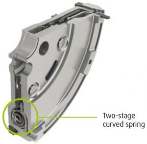 Dual Mass Flywheel (DMF) 2-stage curved spring