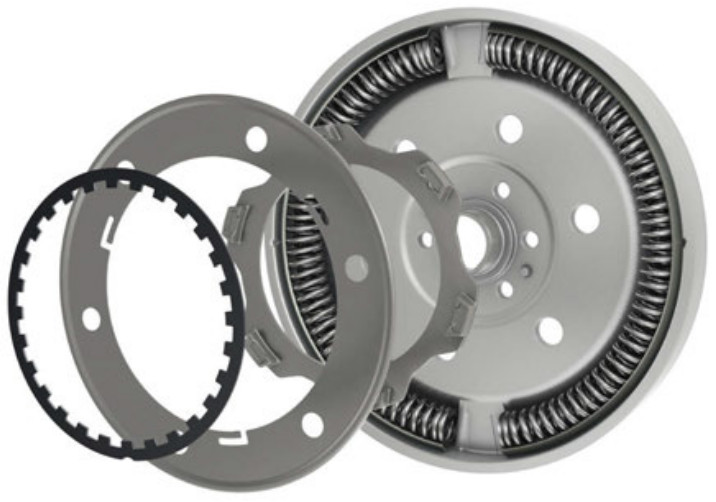 Dual Mass Flywheel (DMF) friction washers
