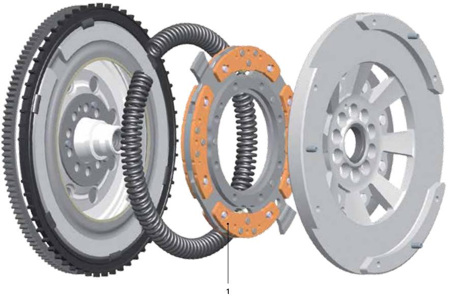 Standard DMF - centrifugal pendulum-type absorber