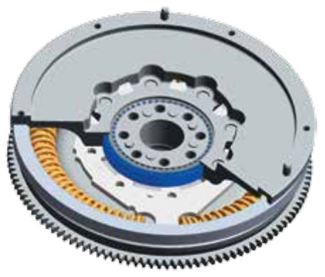 Standard dual mass flywheel (DMF) - ball bearing