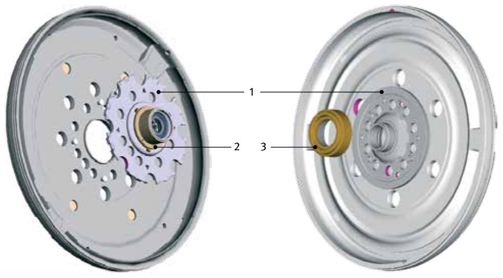 Standard dual mass flywheel (DMF) - bearing