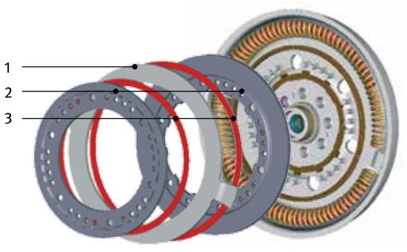 Standard dual mass flywheel (DMF) - flange