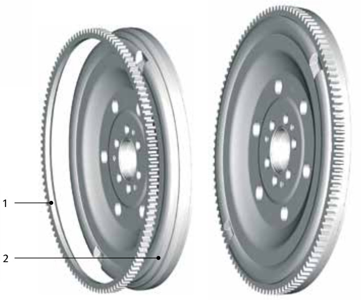 Standard dual mass flywheel (DMF) - primary mass