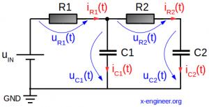 RRCC circuit schematic