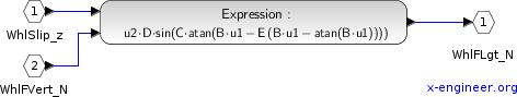 Constant coefficients - Xcos model