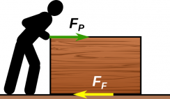 Friction force logo