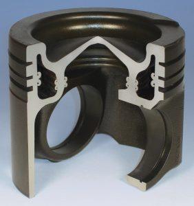Monosteel piston (steel, diesel)