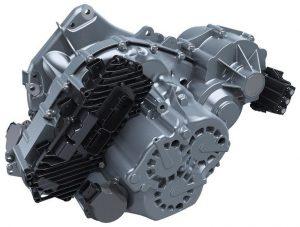 Getrag hybrid dual-clutch transmission 7HDT300