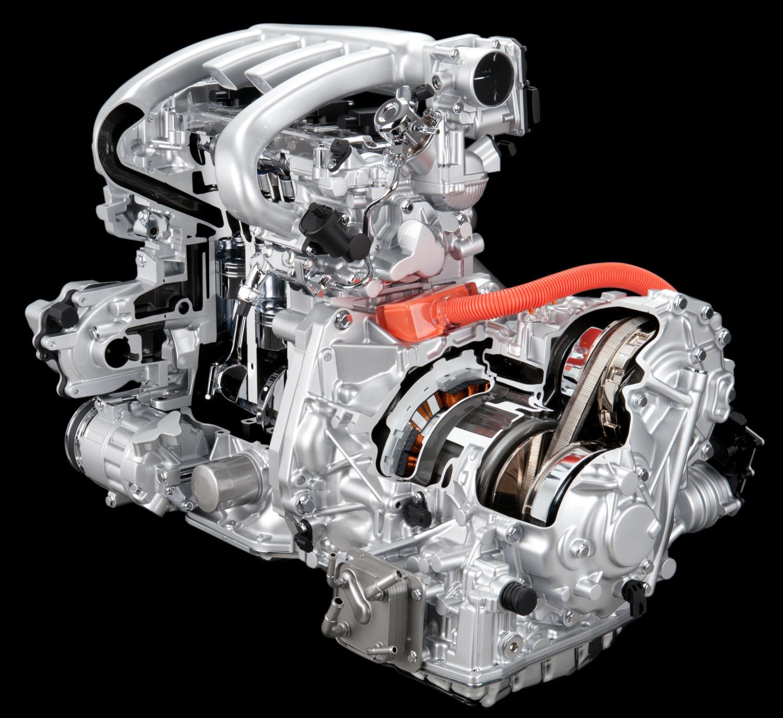 Nissan FF Hybrid Powertrain