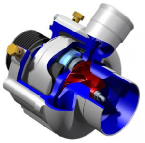 Centrifugal superchargers with planetary rollers