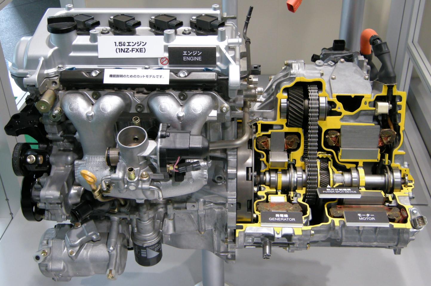Toyota hybrid powertrain