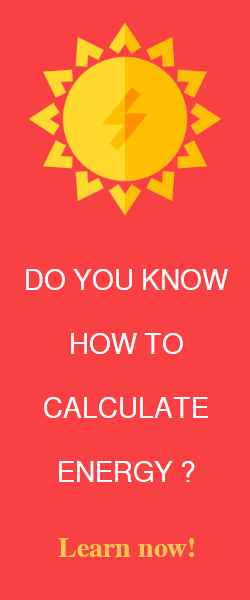 How to calculate energy