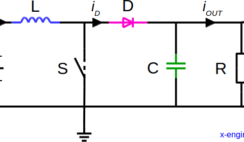 Boost DC-DC converter circuit