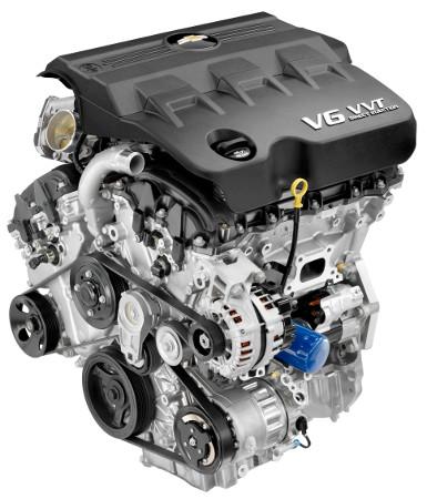 2010 GM 3.0L V-6 VVT DI (LF1) for Chevrolet Equinox